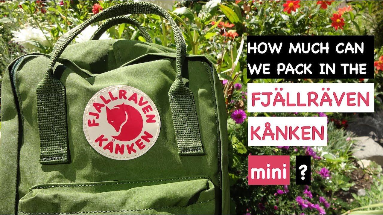 Fjällräven Kånken Mini Daypack Review  04b425d1065e4