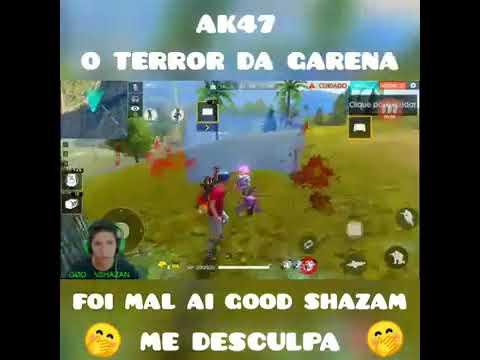 Aí O AK47 Terror Da Garena Mato O Good