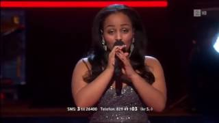 Makeda Dyhre   It s A Man s World Live Show The Voice Norway 2013