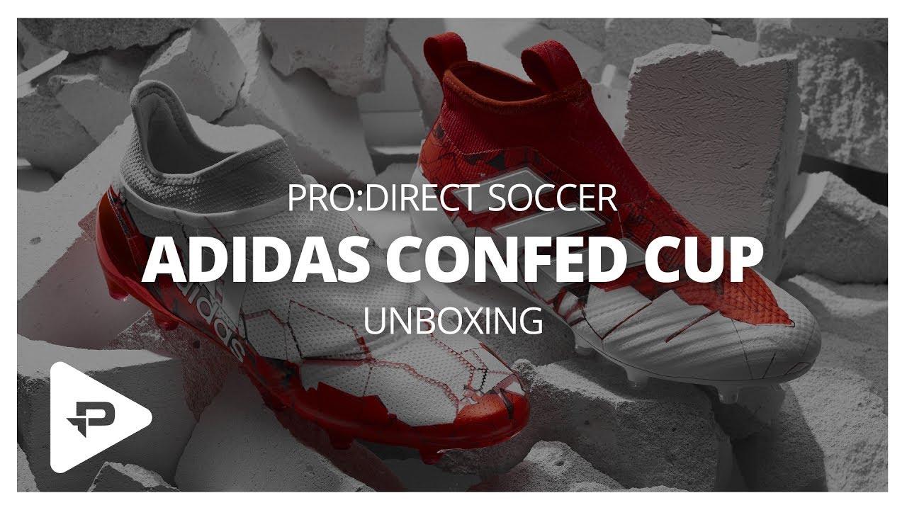 Unboxing  adidas Confederations Cup Pack. Pro Direct Soccer a221693bd7bfa