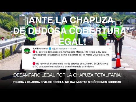¡POLICÍA Y GUARDIA CIVIL REVIENTAN! No multarán sin órdenes escritas por la dudosa cobertura legal