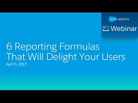 6 Reporting Formulas That Will Delight Your Users