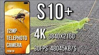 Samsung Galaxy S10 plus Camera Test Video Sample 4K 1080p Portrait Mode