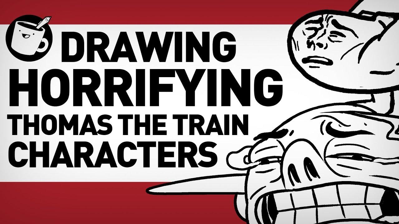 Drawing Thomas the Tank Engine Original Characters | Doovi