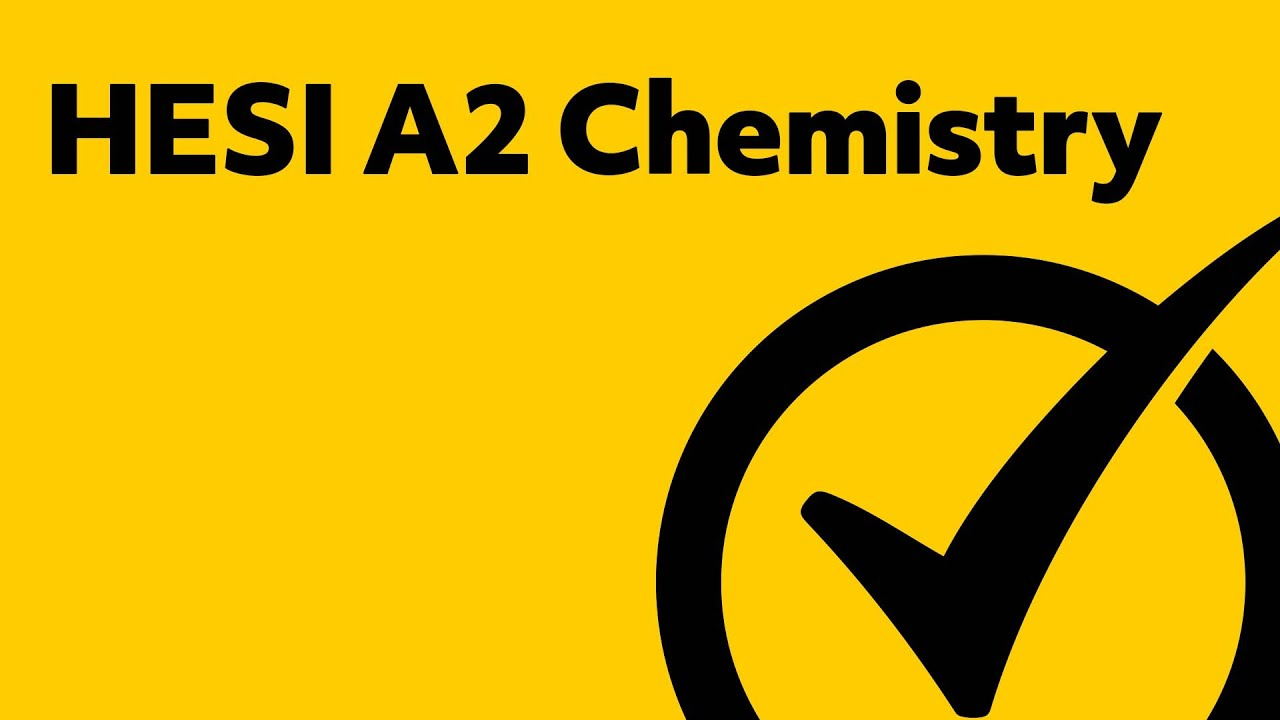 HESI Admission Assessment Exam Review - Chemistry Study Guide - YouTube