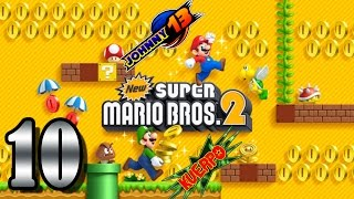 New Super Mario Bros 2 GAMEPLAY - Parte 10 - De cabeza a por Ludwig!!!