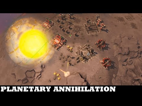 Now that was a BRILLIANT Match - Planetary Annihilation: Titans