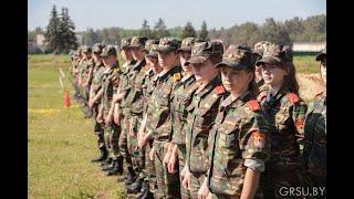 Учебно-полевой сбор учащихся кадетских классов проходит на военном факультете ГрГУ имени Янки Купалы