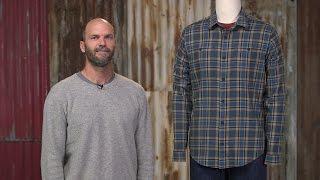 Patagonia Men's Long-Sleeved Organic Pima Cotton Shirt