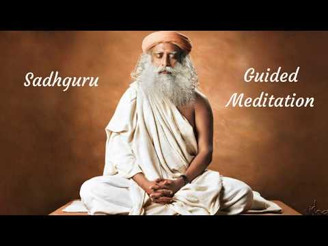 Sadhguru 2017 guided meditation - harness creative energy
