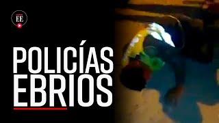 Policías borrachos protagonizaron accidente en Cartagena e intentaron huir - El Espectador