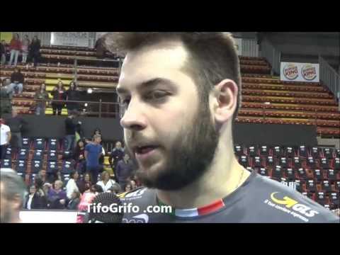 Sir Perugia Ankara 3-1. Intervista a De Cecco post partita
