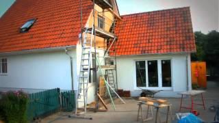 Zeitraffer-Aufnahme einer Hausrenovierung #Time_Lapse