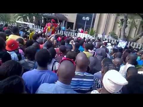 UNISA DURBAN Campus strike