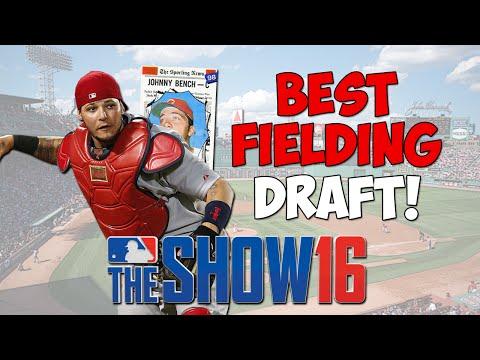 Gold Gloves! Best Fielding Draft! | MLB The Show 16 Diamond Dynasty - Battle Royale Gameplay
