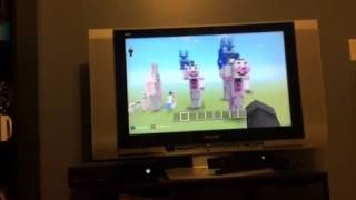 FunTime Freddy time lapse Minecraft (FNaF Sister Location)