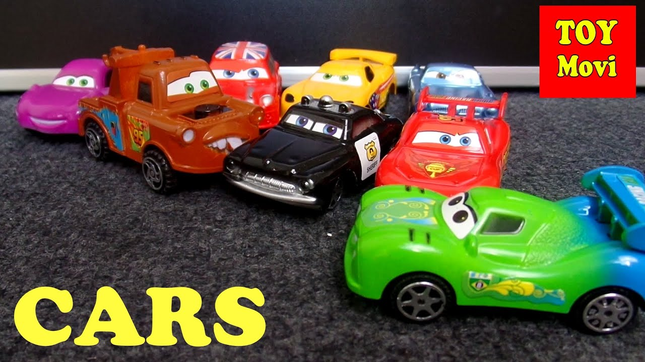 Cars Film Deutsch Spielzeug Autos Kinderautos Kids Cars 2 Toys