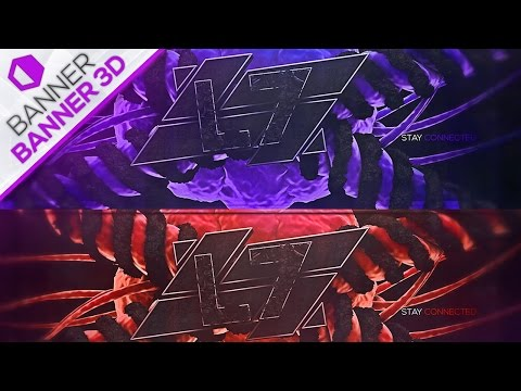 Speed Art Banner 3D / SkiZz DZN