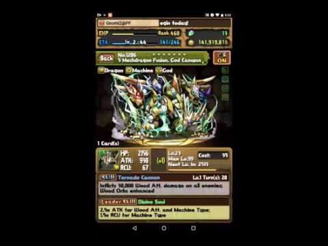 [Puzzle And Dragons] Myr Legend Plus - Zeus Dios Co-op
