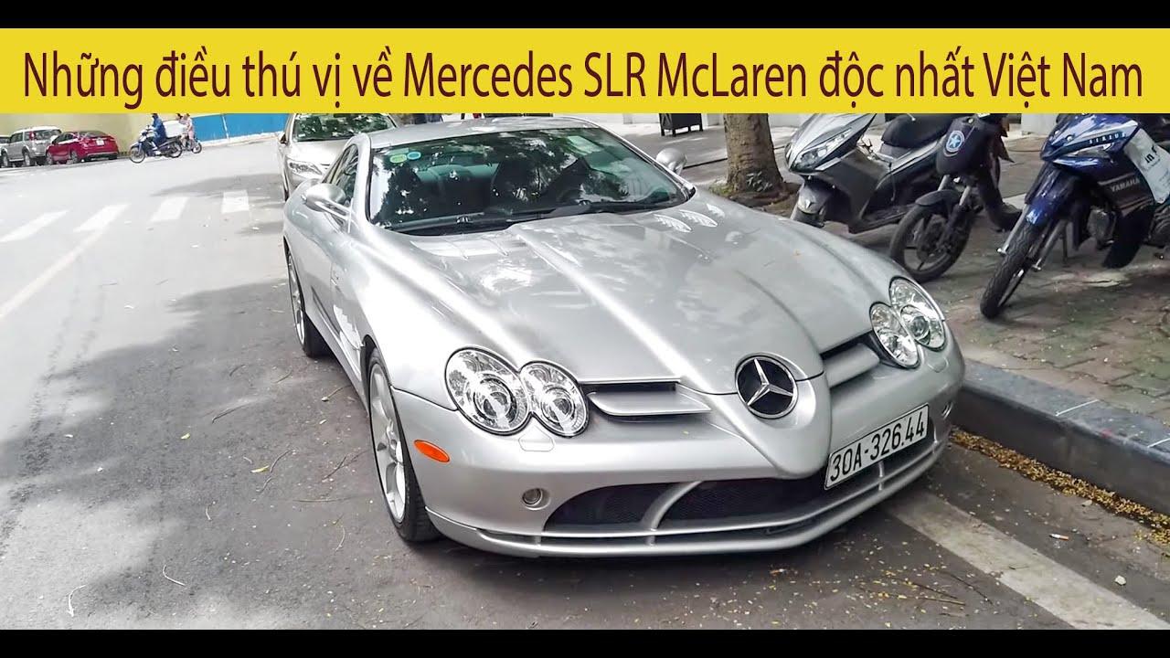 Những điều thú vị về Mercedes SLR McLaren độc nhất Việt Nam của Trùm siêu xe Hà Nội