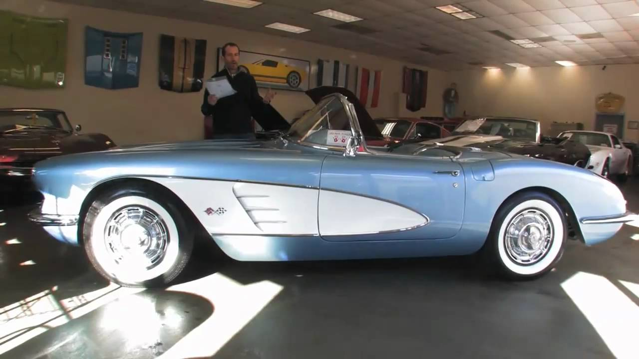 Corvette For Sale >> 1960 Chevrolet Corvette Roadster for sale with test drive, driving sounds, and walk through ...