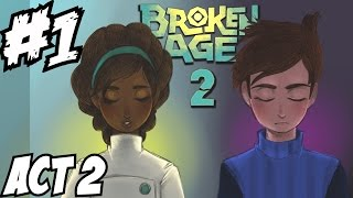 Broken Age Act 2 Walkthrough Part 1 Gameplay Let's Play Playthrough Review Guide 1080p HD