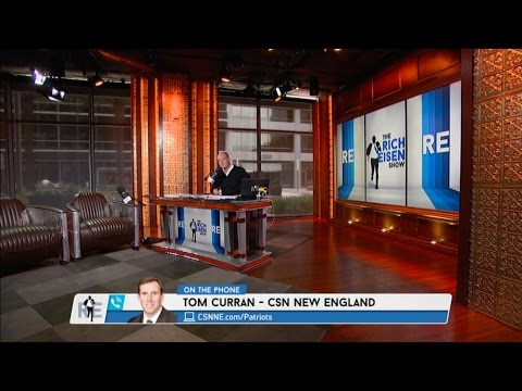 CSN New England Tom Curran Talks Tom Brady, Gisele & More - 5/17/17