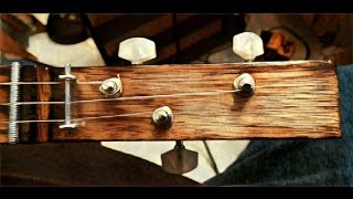 Old Ghost Blues  - Mr Seabaughs Cigar Box Blues Guitar #6