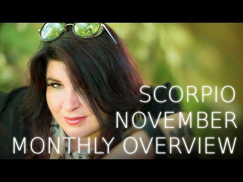 Scorpio Monthly Astrology Forecast November 2016