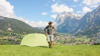 스위스에 취하다 홀드리오 백패킹(Switzerland Camping Holdrio Backpacking)