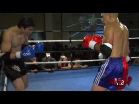 Muay Thai - Victor Wang Vs Chad Gerrow