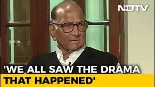 Knew Of Ajit Pawar-Fadnavis Talks, Not That He'd Go So Far: Sharad Pawar