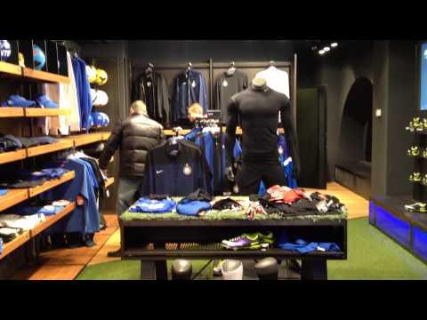 Solo Inter Store. Nuovo centro espositivo