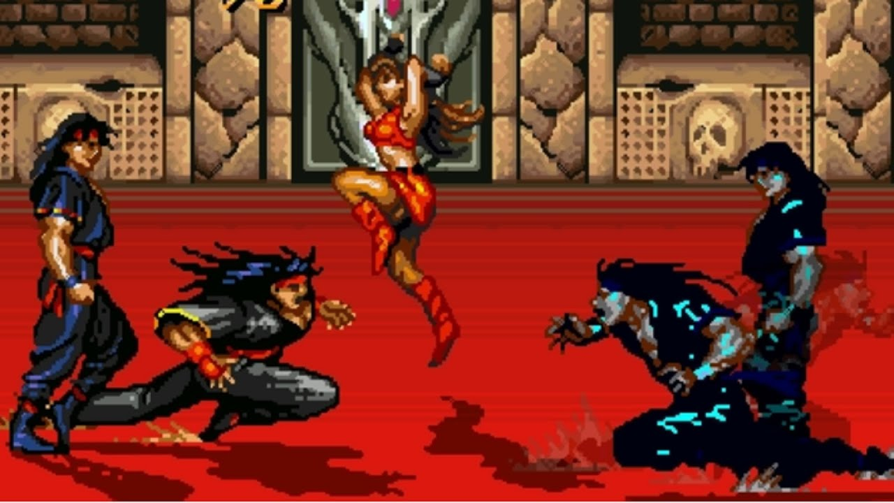 Streets Of Rage Remake V5 MOD Double Dragon Genesis Longplay