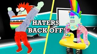 FASHION FRENZY IN ROBLOX | HATERS BACK OFF! | RADIOJH GAMES & DOLLASTIC PLAYS!