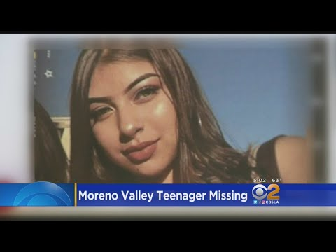 Search Continues For Missing Moreno Valley Teen