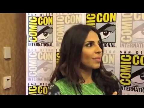 Azita Ghanizada Comic Con 2012 'Alphas'  w Cody Deal
