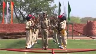 Indian Police Parade Amazing Rehearsal