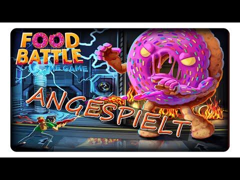FOOD BATTLE || Angespielt | Deutsch