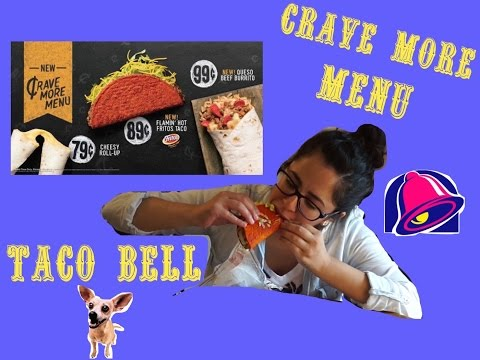 Taco Bell Crave MORE Menu Exclusively in Omaha Nebraska (MUKBANG & Review)