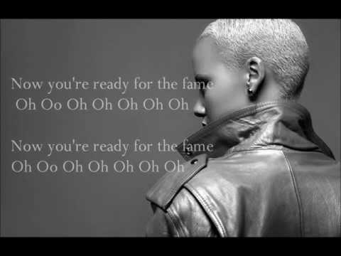 Amber Rose Ft. Wiz Khalifa - Fame Lyrics On Screen