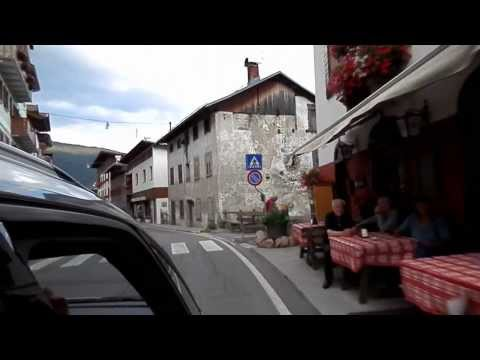 Driving Through a Small Village in Northern Italy