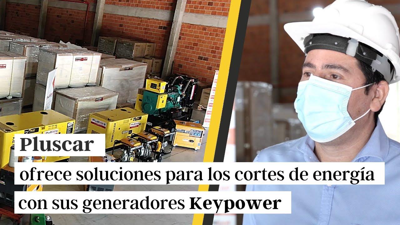 Pluscar ofrece soluciones para los cortes de energía eléctrica con sus generadores Keypower