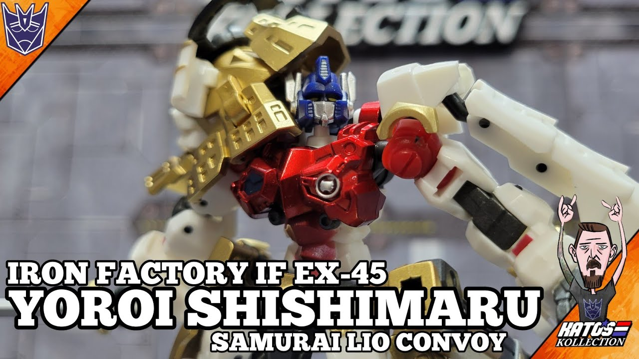 Iron Factory Yoroi Shishimaru (Samurai Lio Convoy) by Kato's Kollection
