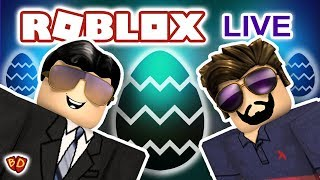 🔴 Roblox Live | Egg Hunt 2018 | Ben and Dad
