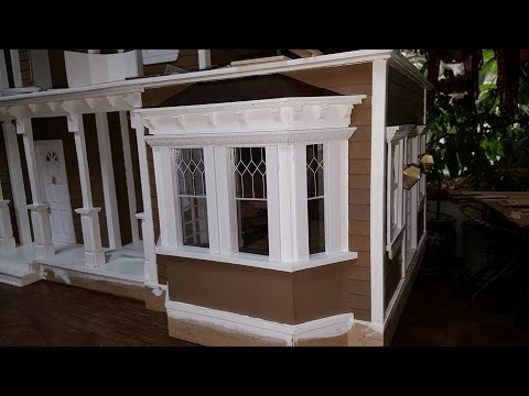 How To Make A Copper Roof For Your Dollhouse 1 Of 2 Youtube
