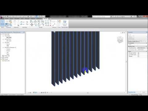 BPD RT005 Parametric Louver System