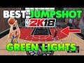 THE BEST JUMPSHOT IN NBA 2K18   AUTOMATIC PERFECT RELEASES AFTER PATCH 1 04
