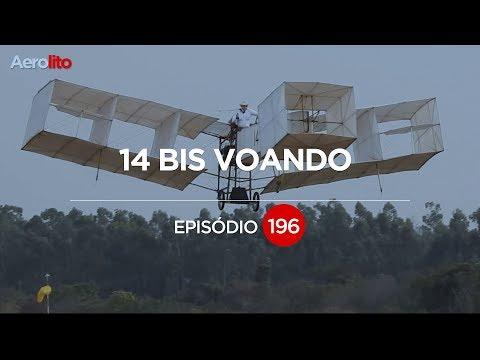 VEJA O 14 BIS DE SANTOS DUMONT VOANDO EP #196