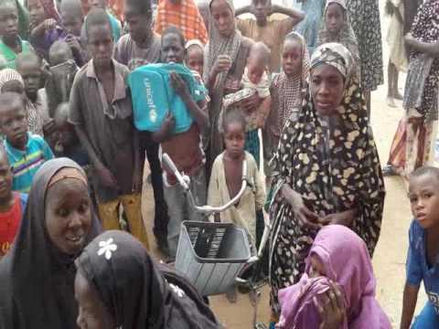 One Of The IDPs Camp In Maiduguri, Borno State, Nigeria